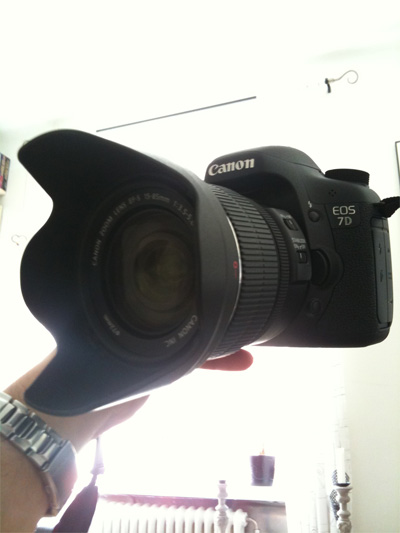 Canon 7D with 15-85mm